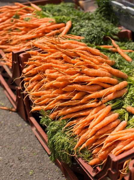 Carrots - Cherries & Carrot Tops