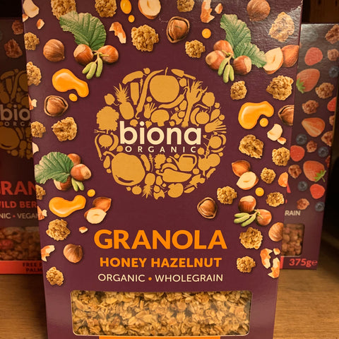 Biona Honey Hazelnut Granola