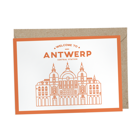 Welcome to Antwerp | Centraal Station