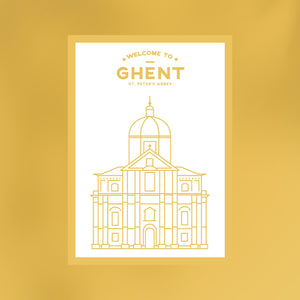 Welcome to Ghent |  Sint-Pietersabdij
