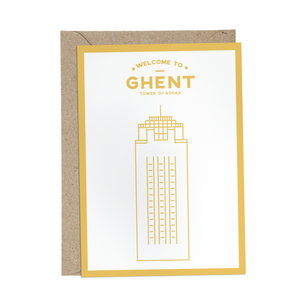Welcome to Ghent | Boekentoren