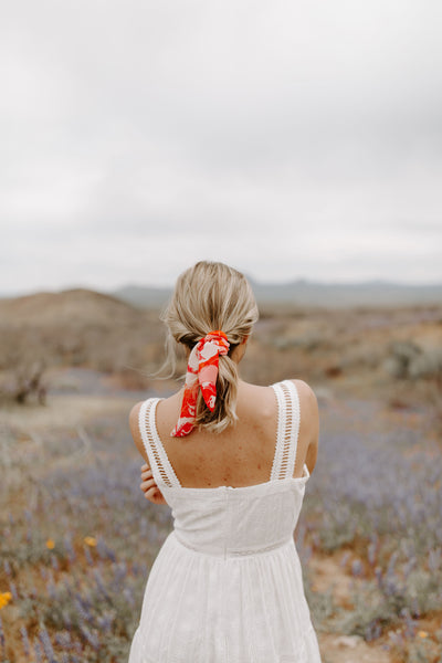 La Maddalena Scrunchie + Hair Scarf