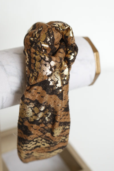Via Bronze Snakeskin