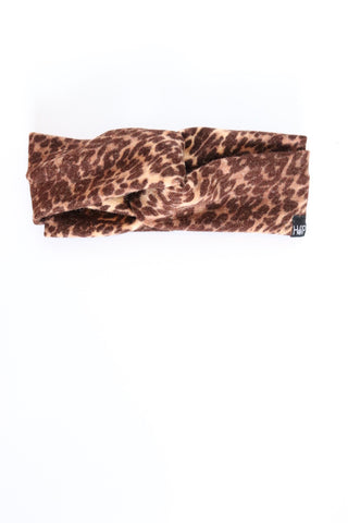 Mood Leopard Sweater Knit Turban