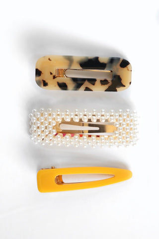 Fox & Sage Barrette Set (3 Sets to choose from)