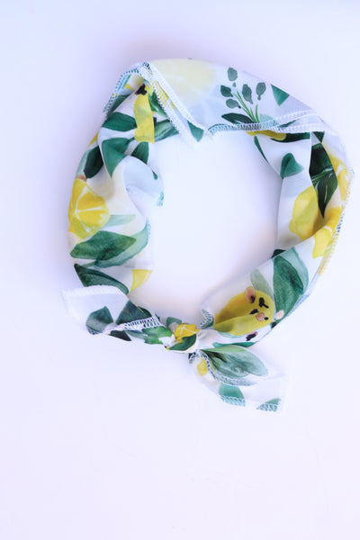 Leticia Limone' Hair Scarf