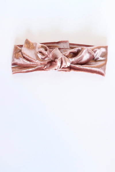 Harlow Rose Gold - Bow Band/Neck Scarf