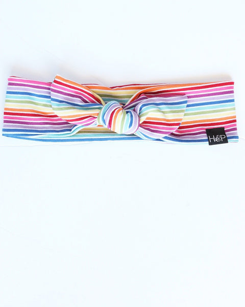Rainbow Bright Bow Band