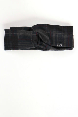 Berlin Plaid Turban