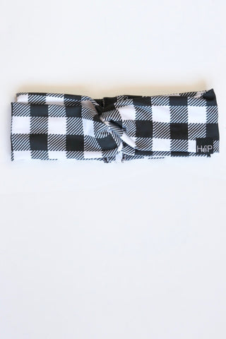 Buffalo Check Turban