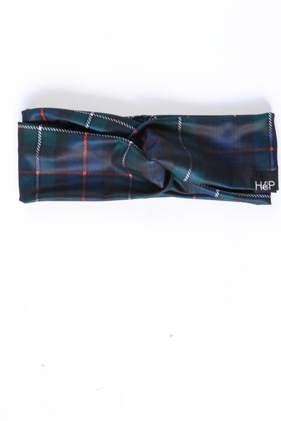 Tartan 'School Girl' Turban
