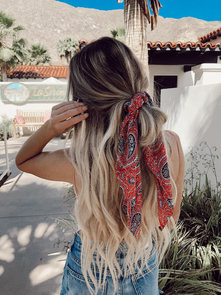 Cowgirl in the Sand Hair Scarf