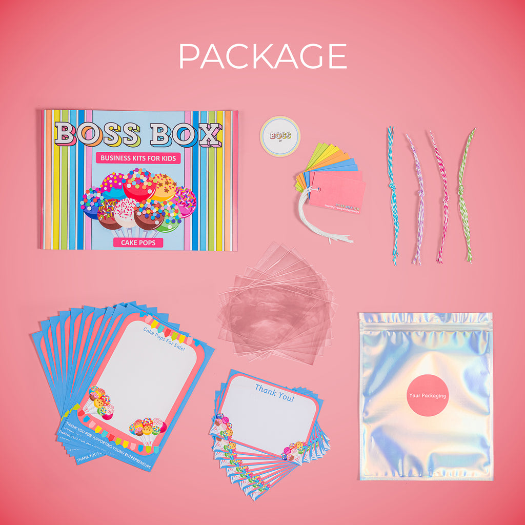 Boss Box Cake Pop Package