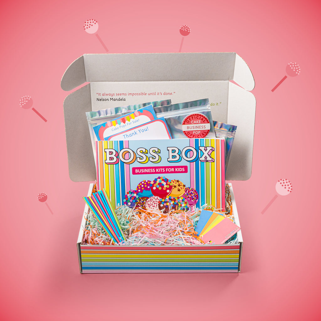 Boss Box Cake Pop Business Creation Kit