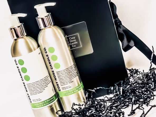 Lime Basil & Mandarin Hand & Body Care Gift Set