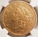 1876-CC $20 Gold Liberty NGC XF Details KEY DATE!! RARE IN ANY CONDITION!