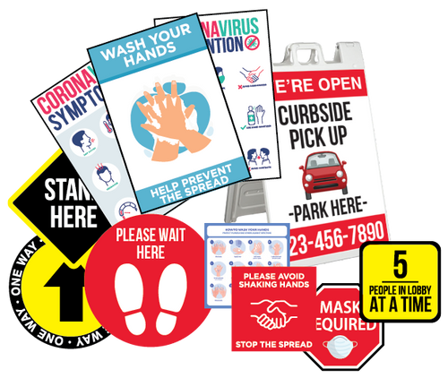 Employee Safety Package - Wheelhouse Graphix Store