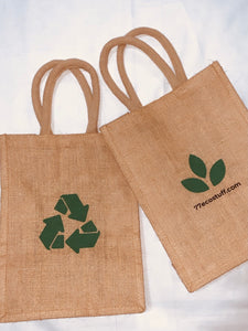 Durable Grocery Jute Bags- (pack of 2 Bags)