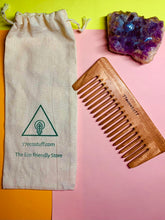 Load image into Gallery viewer, Detangle Premium Neem Wood Comb