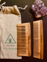 Load image into Gallery viewer, Combo Pack Eco-Friendly Neem Wood Combs