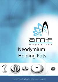 neodymium holding pot magnets specifications