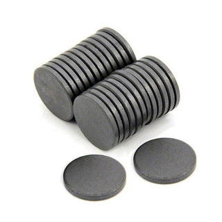 Ferrite Disc Magnet - 22mm x 3mm