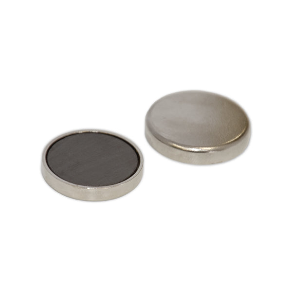 Ferrite Disc Magnet - 20mm x 3mm (Capped)