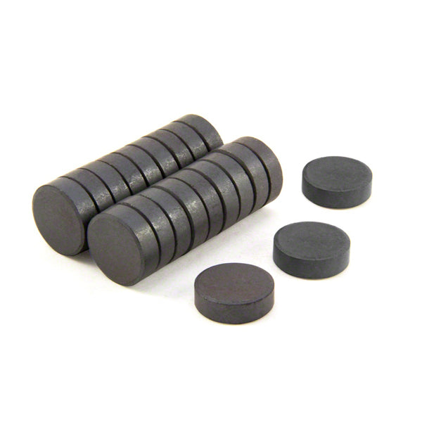 Ferrite Disc Magnet - 18mm x 5mm