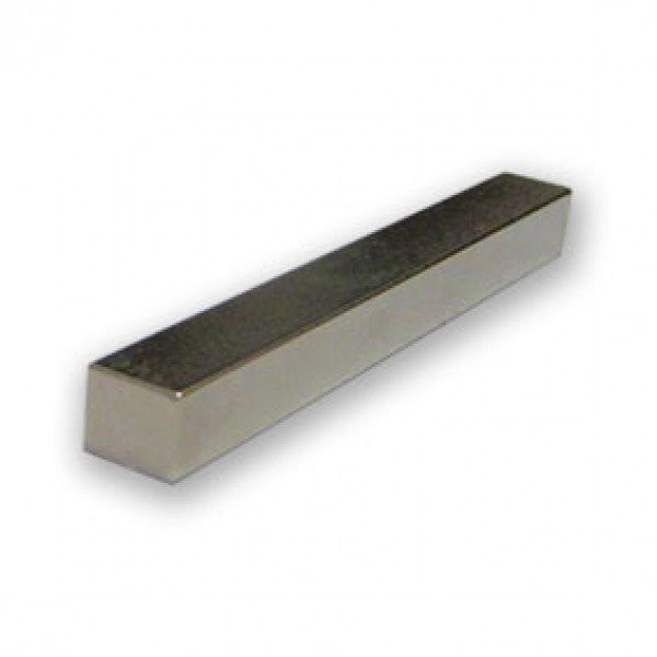 Neodymium Block Magnet - 50mm x 6mm x 6mm | Magnetised along the length