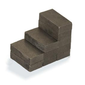 Samarium Cobalt Block Magnets (SmCo) - 10mm x 2.4mm x 5mm