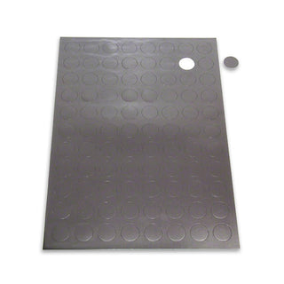 Magnetic Patch - Self-Adhesive Round