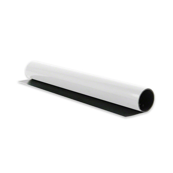 Magnetic Sheeting - White Gloss
