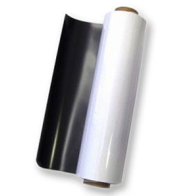 White magnetic sheeting 0.8mm x 1200mm x 10m