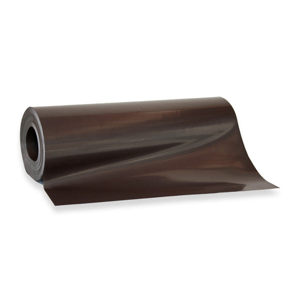 Magnetic Sheeting with Double Sided Magnetism - Brown - 30m x 620mm x 0.5mm ROLL