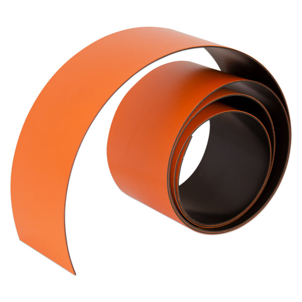 Orange Magnetic Tape - 50mm x 0.6mm | PER METRE