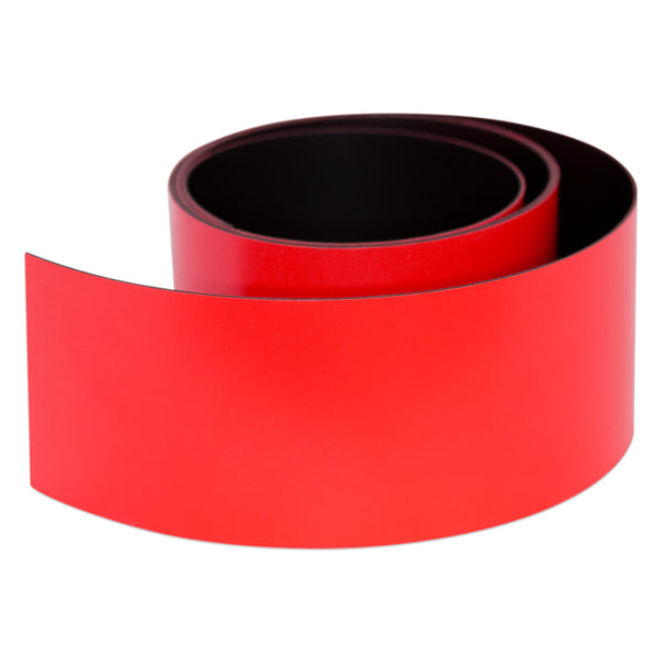 Red Magnetic Tape - 50mm x 0.6mm | PER METRE