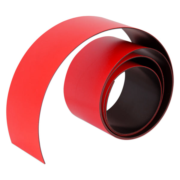Red Magnetic Tape 50mm x 0.6mm | PER METRE