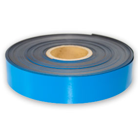 Roll of blue magnetic tape for sale!