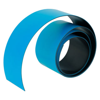 Blue Magnetic Tape - 50mm x 0.6mm | PER METRE