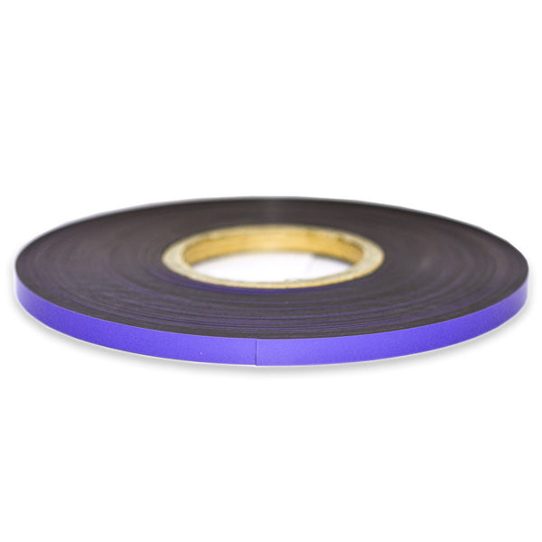 Purple magnetic tape ideal for labelling!