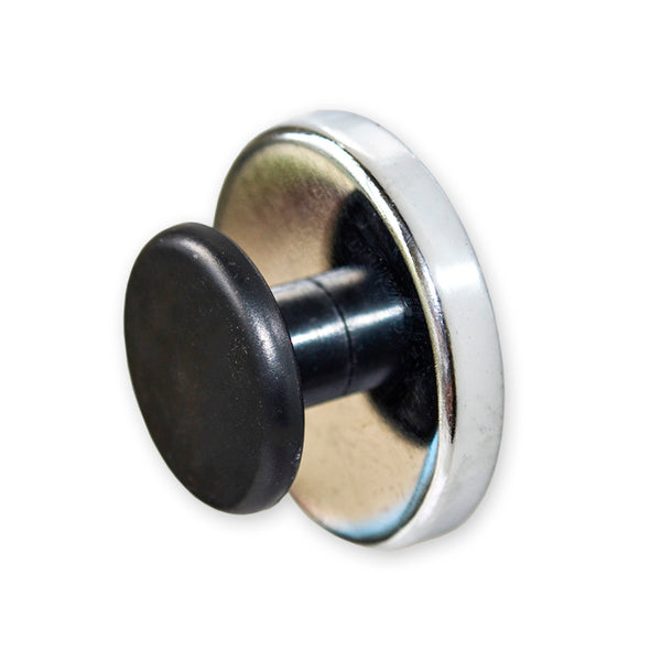 Round Base Magnet with Knob