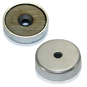 Ferrite Pot Magnet - 32mm x 8mm