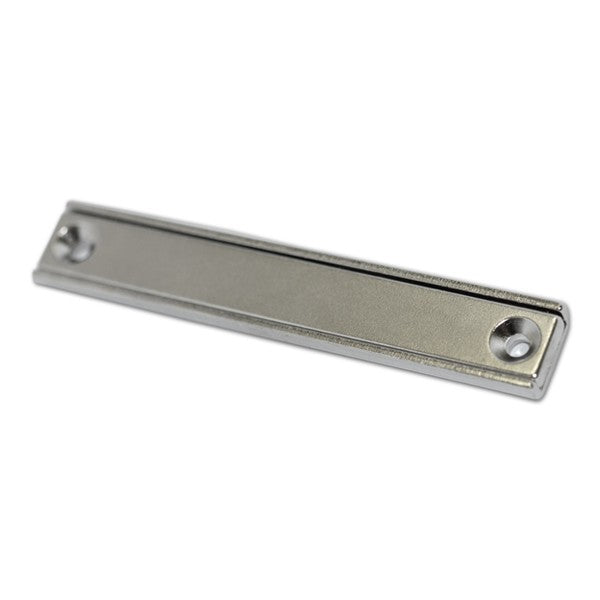Neodymium Rectangular Pot - Countersunk 80mm x 13.5mm
