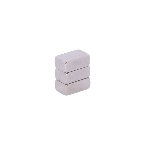 Neodymium Block Magnet 5x3x2mm N50 Black Ni
