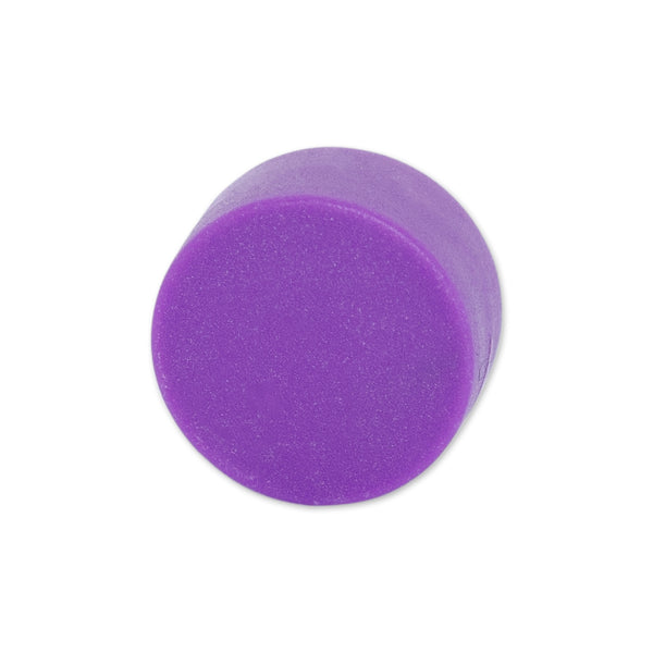 Neodymium Purple Button Magnet - 12.7mm x 6.35mm | Thermoplastic Rubber (TPR) Coated