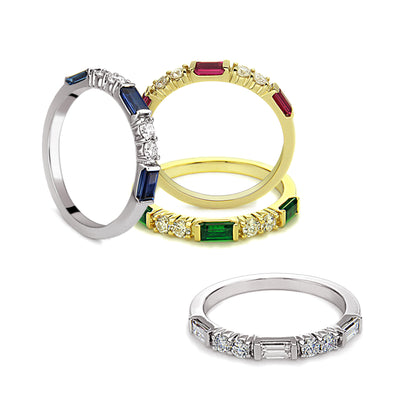 Unity Stackables Ring Collection