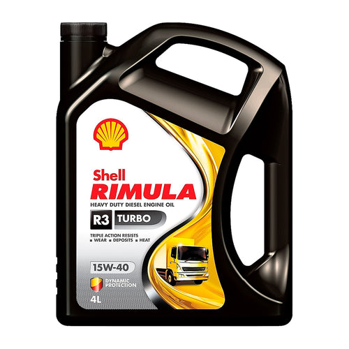 Shell Rimula R3 Turbo 15W-40 Diesel Engine Oil