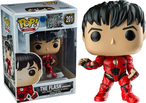 Funko Pop!  - Heros - Justice League - The Flash ( Unmasked) Exclusive 201