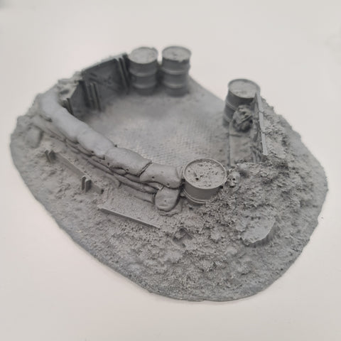 Warhammer 40k Forge World 40k command Dugout