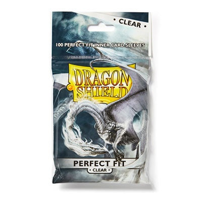 Dragon Shield Perfect Fit Clear Inner sleeves top loading